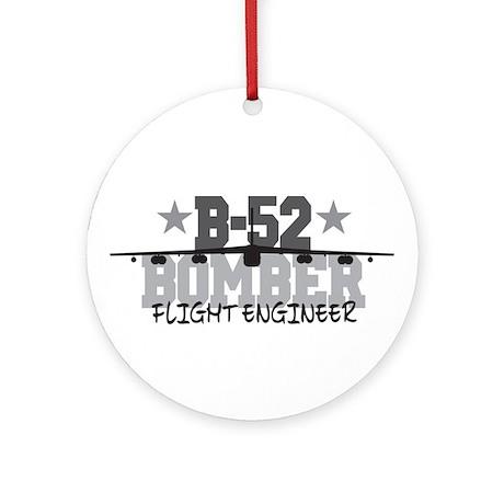 B-52 Aviation Flight Engineer Ornament (Round)