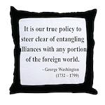 George Washington 6 Throw Pillow