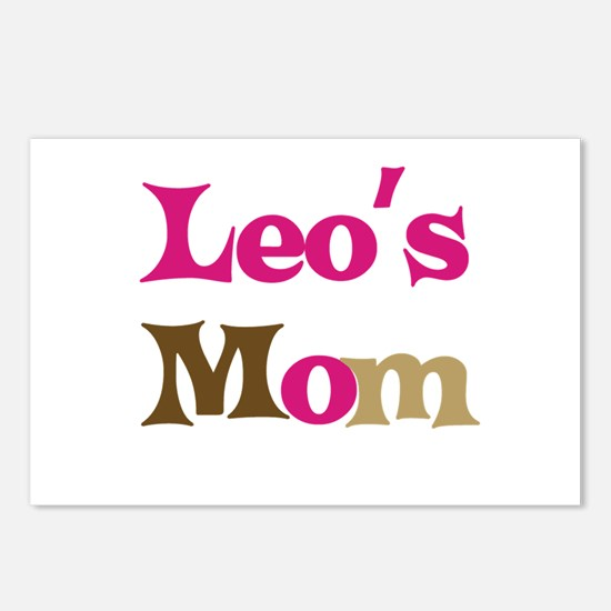 Leo's Mom Postcards (Package of 8)