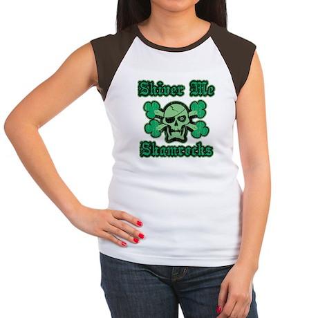 Shiver Me Shamrocks Women's Cap Sleeve T-Shirt