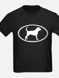 Bloodhound Oval T
