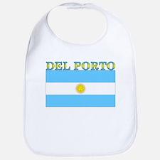 Del Porto Argentina Flag Bib