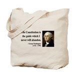 George Washington 4 Tote Bag