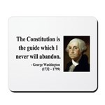 George Washington 4 Mousepad