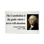 George Washington 4 Rectangle Magnet (100 pack)