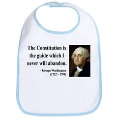 George Washington 4 Bib
