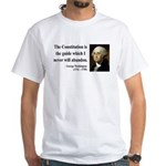 George Washington 4 White T-Shirt