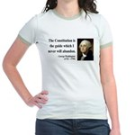 George Washington 4 Jr. Ringer T-Shirt