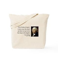 George Washington 3 Tote Bag