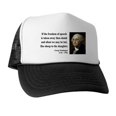 George Washington 3 Trucker Hat