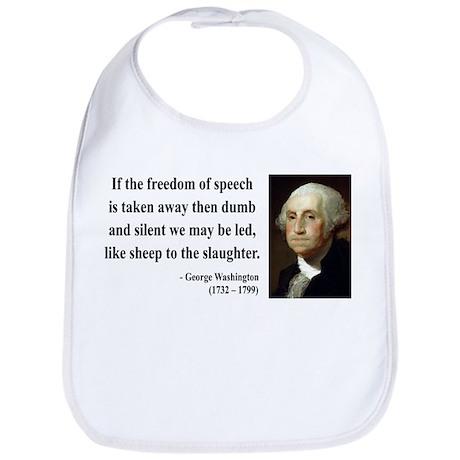 George Washington 3 Bib