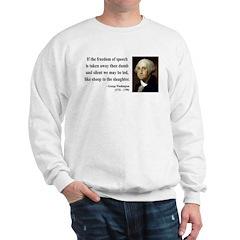 George Washington 3 Sweatshirt