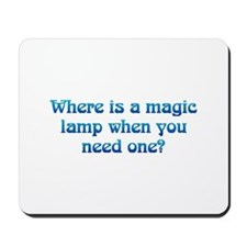 Magic Lamp Mousepad