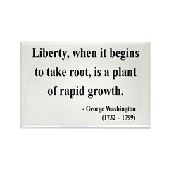 George Washington 2 Rectangle Magnet (10 pack)