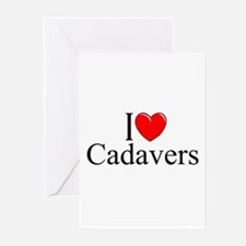 """I Love Cadavers"" Greeting Cards (Pk of 10)"