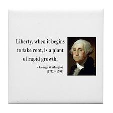 George Washington 2 Tile Coaster
