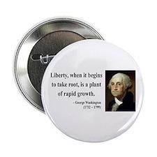 "George Washington 2 2.25"" Button"