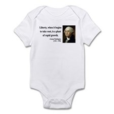 George Washington 2 Infant Bodysuit