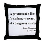 George Washington 1 Throw Pillow