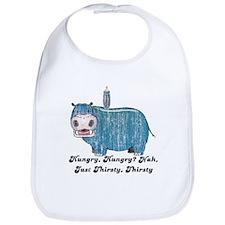 Thirsty, Thirsty Hippo Bib