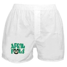 April Fool's Day Boxer Shorts