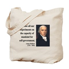 James Madison 15 Tote Bag