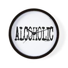 MV Alcoholic Wall Clock