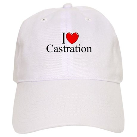 """I Love Castration"" Cap"
