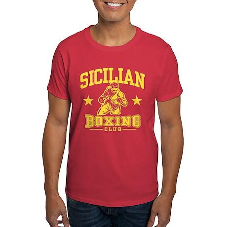 Sicilian Boxing Dark T-Shirt