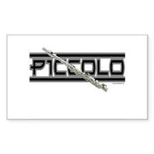 Piccolo Rectangle Decal