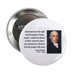 """James Madison 6 2.25"""" Button (100 pack)"""