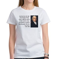 James Madison 6 Women's T-Shirt
