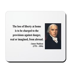 James Madison 3 Mousepad