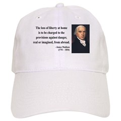 James Madison 3 Baseball Cap