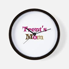 Trent's Mom Wall Clock