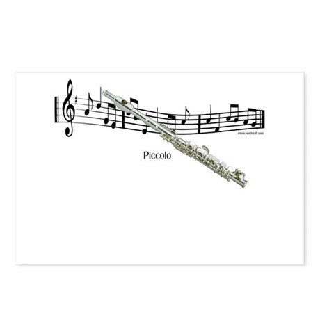 Piccolo Music Postcards (Package of 8)