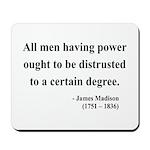 James Madison 1 Mousepad