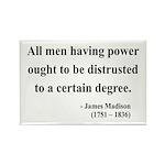 James Madison 1 Rectangle Magnet