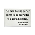 James Madison 1 Rectangle Magnet (100 pack)