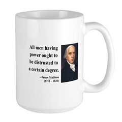 James Madison 1 Large Mug