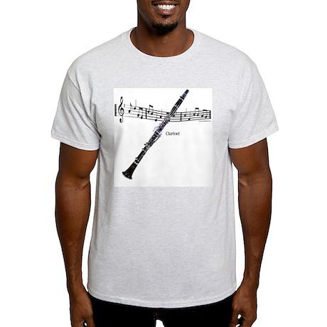Clarinet Music Light T-Shirt