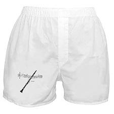 Clarinet Music Boxer Shorts