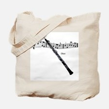 Oboe Music Tote Bag