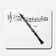 Oboe Music Mousepad