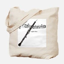 English Horn Music Tote Bag