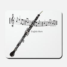 English Horn Music Mousepad