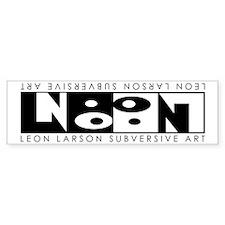 Leon Inversion Bumper Bumper Sticker