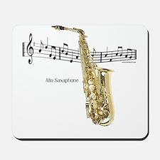 Alto Sax Music Mousepad