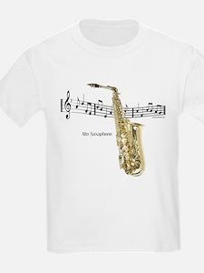 Alto Sax Music T-Shirt