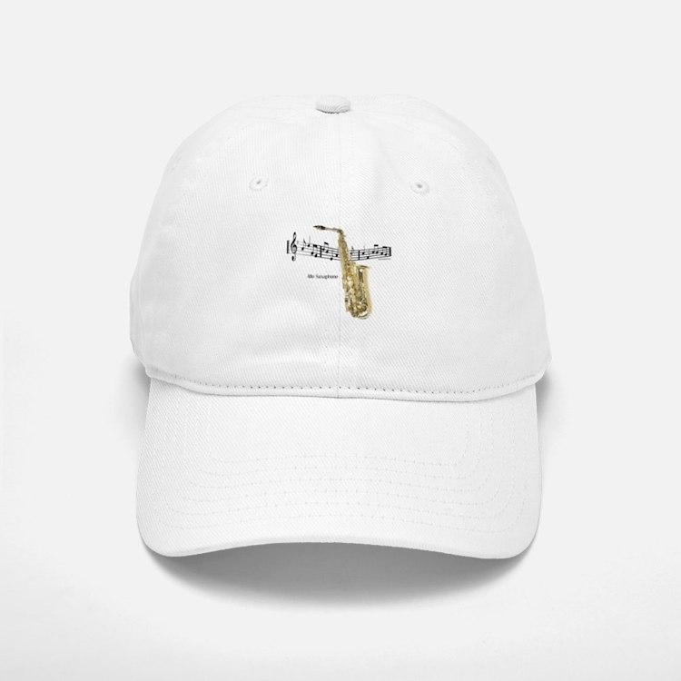 Alto Sax Music Cap
